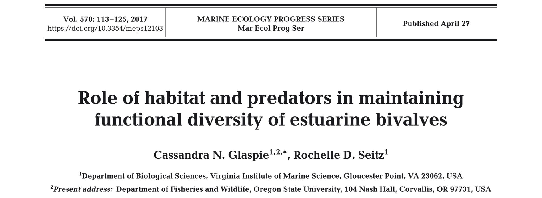 Glaspie Lab – Marine Community Ecology at Louisiana State